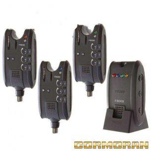 Set 3 Avertizori Electronici Cormoran Pro Carp F8000
