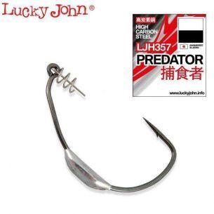 Carlige Lestate Lucky John Offset Predators 357 nr.8/0 (2buc)