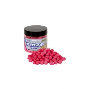 Benzar Method Puffy Midi Capsuni-Krill Roz Fluo 180ml