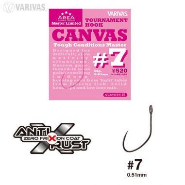 Carlige Varivas Super Trout Area Tournament Canvas nr.7 (15buc)