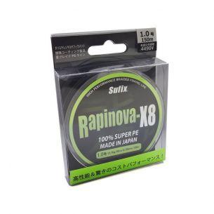 Fir Textil Sufix Rapinova 150m Lemon Green X8 0.128mm