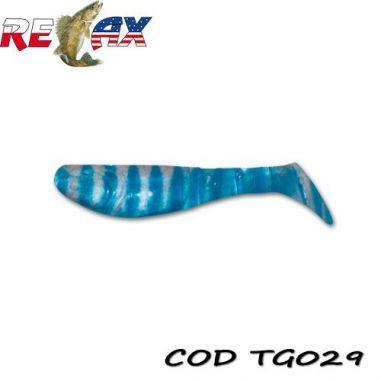 Shad Kopyto Tiger 7,5cm (Cul: 029) 6buc