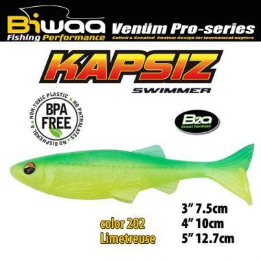 Shad Biwaa Kapsiz Limetreuse 10cm (5buc)