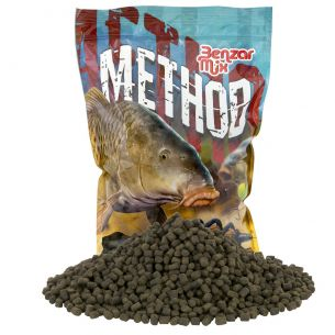 Benzar Premium Black Halibut Pellet 6mm 800g