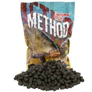 Benzar Premium Black Halibut Pellet 10mm 800g