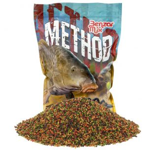 Pelete Method Feeder Benzar Mix Mixt 2mm 800g