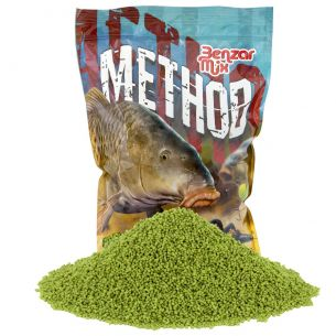 Pelete Method Feeder Benzar Mix Green Betain 2mm 800g