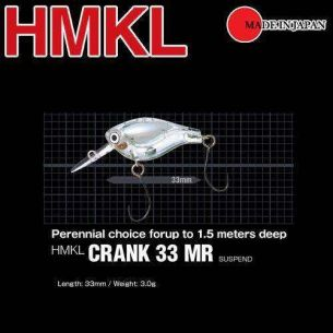 Vobler HMKL Crank 33 MR Suspend, 3.3cm, 3g, Rainbow Trout (2buc)