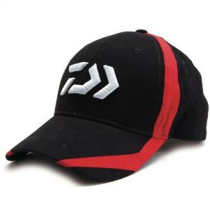 Sapca cu Logo Daiwa Black/Red Flash