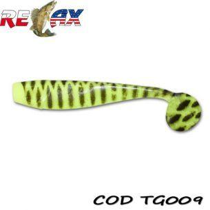 Relax King Shad Tiger TG009 10cm (5buc)