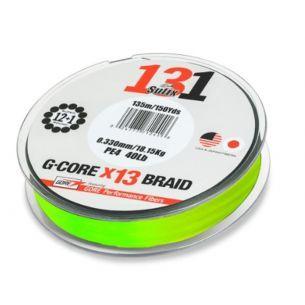 Fir Textil Sufix 131 G-Gore 150m 0.128mm 6.80kg 15lb Neon Chartreuse