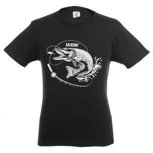 Tricou Stiuca Jaxon Pike Black XXL