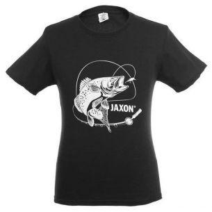 Tricou Salau Jaxon Zander Black M