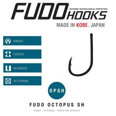 Carlige Somn Fudo Octopus SH-7001 6/0 (3buc)