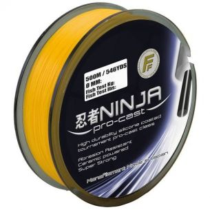 Fir Monofilament Lineaeffe Ninja Pro Cast Orange 0.22mm 250m