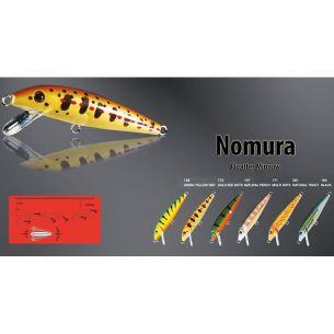 Vobler Nomura Floater Minnow Black 3cm 2.4g