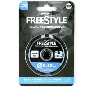 Inaintas Fluorocarbon Spro Freestyle 0.22mm 15m