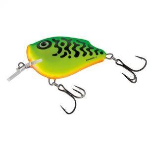 Vobler Salmo Square Bill SQ6F Green Tiger 6cm 21g