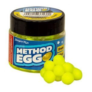 Method Egg Benzar Critic Echilibrat Ananas 8mm Galben