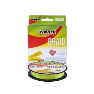 Fir Textil Wizard Braid Fluo Yellow 0.10mm 135m