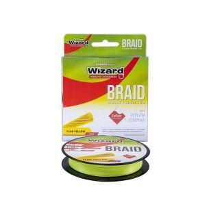 Fir Textil Wizard Braid Fluo Yellow 0.25mm 135m