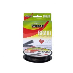 Fir Textil Wizard Braid Dark Grey 0.25mm 135m