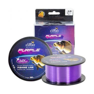 Fir Monofilament Carp Expert UV Purple 0.30mm 300m 12.5kg