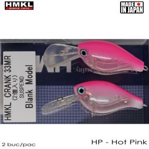 Vobler HMKL Crank 33 MR Suspend 3.3cm 3g Hot Pink (2buc)