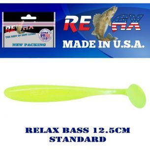 Shad Relax Bass Standard S055 12.5cm 5buc