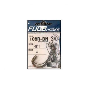 Carlige Offset Fudo 108R Nr.1/0 (4buc)