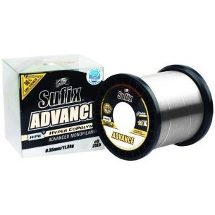 Fir Monofilament Sufix Advance Clear 0.18mm 1000m
