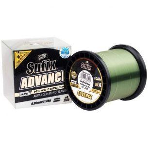 Fir Monofilament Sufix Advance Lo-Vis Green 0.28mm 1000m