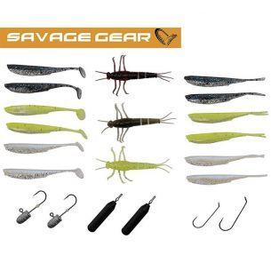 Set Naluci si Accesorii Savage Gear Mini Perch 21buc