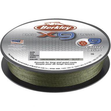 Fir Textil Berkley X9 Low Vis Green 0.17mm 150m
