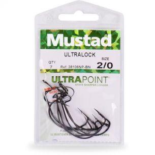 Carlige Mustad Offset Ultralock BLN nr.1/0 7buc