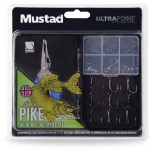 Kit Mustad Pike cu Cleste pentru Inele