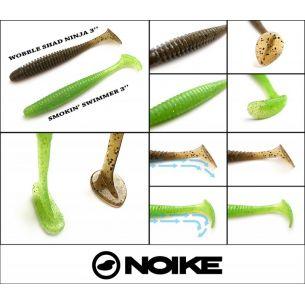 Noike Smokin' Swimmer 7.6cm (9buc/plic) Motoroil Gold