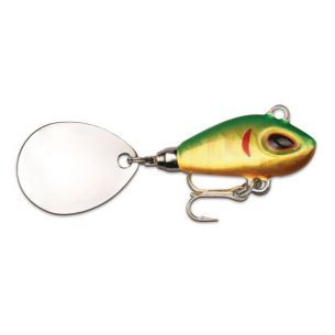 Spin Tail Storm Gomoku Spin 6cm 16g Hologram Green Gold