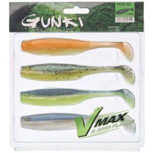 Shad Gunki Peps Kit Clear Water Kit II 9cm 4buc