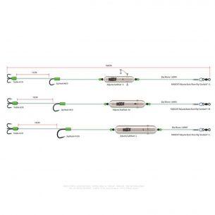 Montura Somn Madcat nr.10/0 Adjusta Basic River Rigs Live Bait L 45kg