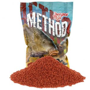 Pelete Method Feeder Benzar Mix Portocala-Ciocolata 12mm 800g