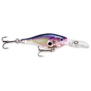 Vobler Rapala Glass Shad Rap 4cm 5g Glass Purple Shad