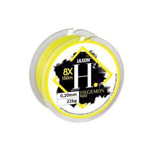 Fir Textil Jaxon Hegemon 8X Galben Fluo 0.10mm 150m