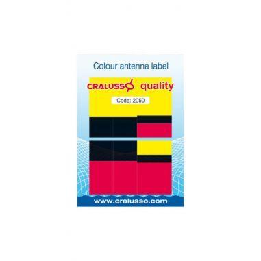 Set Abtibild Plute Diferite Culori Cralusso