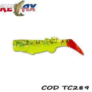 Shad Relax Kalifornia TriColour TC289 7.5cm (10buc)