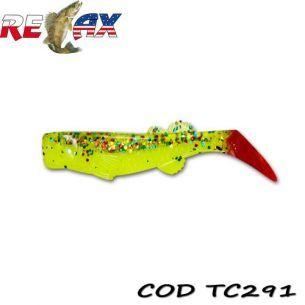Shad Relax Kalifornia TriColour TC291 7.5cm (10buc)
