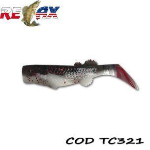 Shad Relax Kalifornia TriColour TC321 10cm (10buc)