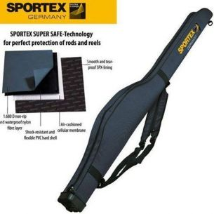 Husa Rigida Lansete Sportex Super Safe I Grey 125cm