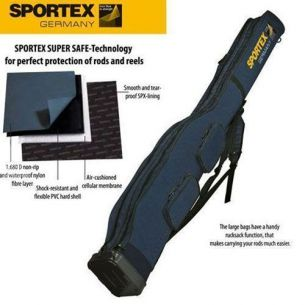 Husa Rigida Lansete Sportex Super Safe V Grey 165cm