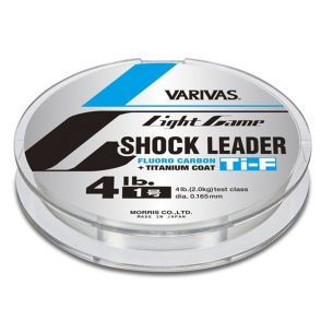 Fir Varivas Light Game Shock Leader Titanium Fluorocarbon 0.14mm 30m